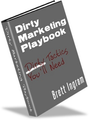 Product picture makemoneyonline - DIRTY MARKETING PLAYBOOK - makemoneyonline