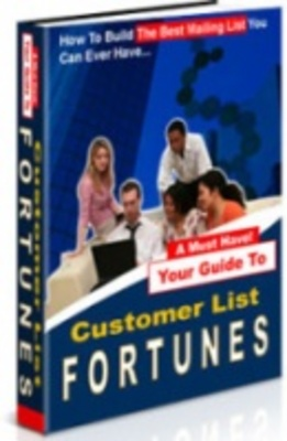 Product picture MakeMoneyOnline - Customer List Fortunes